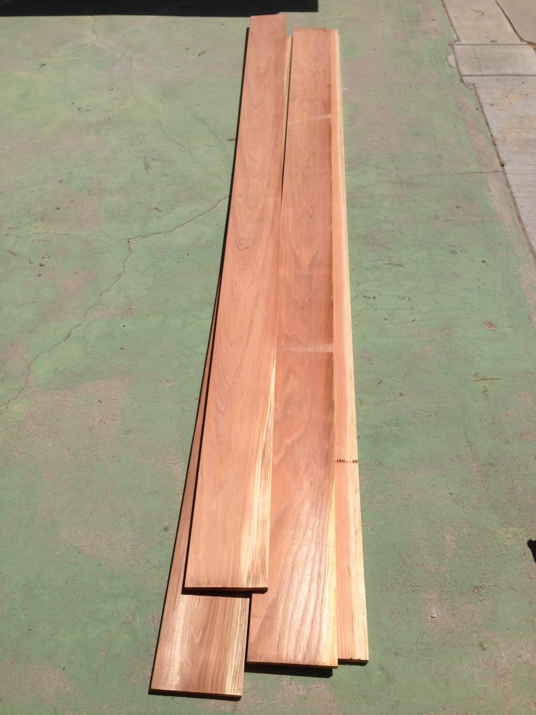 Redwood Planks